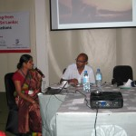 Presentation by Rupa Gamage and Sheela Rathnayake of RCC