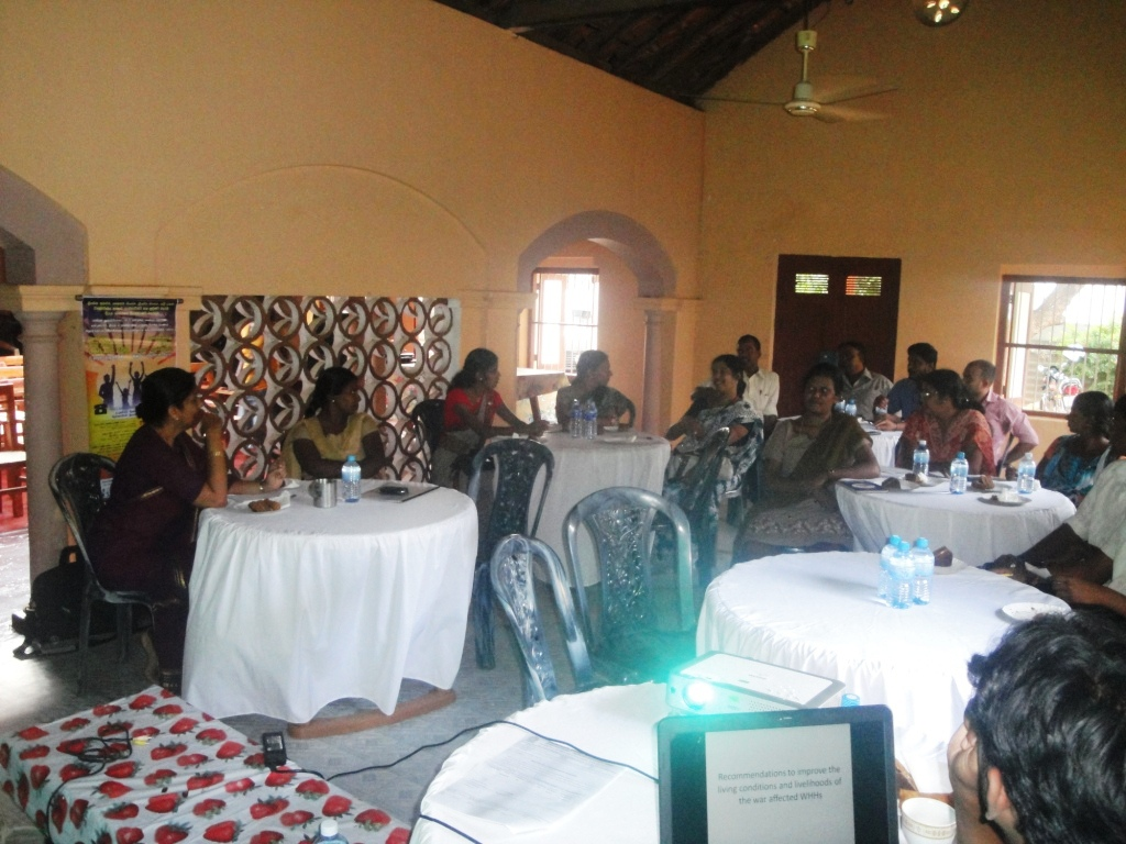 Viluthu stakeholder meetin in Jaffna